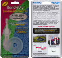 HandleDry slide blister packaging